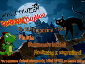 Halloween w Fun Parku Digiloo!