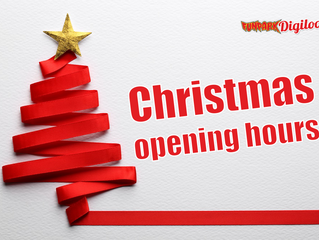 Changes in opening hours in December and the New Year