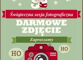 Świąteczna Sesja Fotograficzna - Darmowe zdjęcia już 6 grudnia!