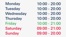 New opening hours in Fun Park Digiloo