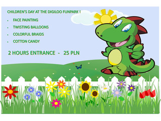Children`s day at the Digiloo FunPark