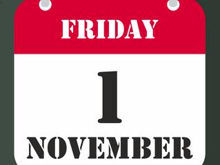 1st of November