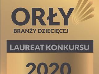"""Laureate status in the """"Orły Branży Dziecięcej"""" competition"""