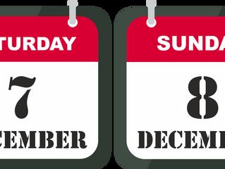 7-8th of December