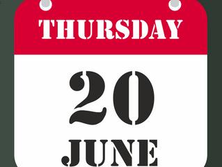 20th of June - Open