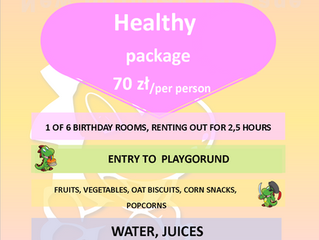 New birthday package!