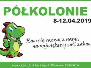 8 - 12 kwietnia półkolonie w Fun Parku Digiloo!