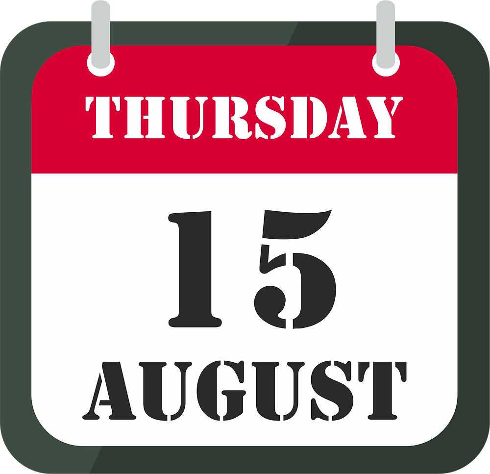 15th of august