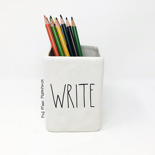 Rae Dunn Write Pencil Holder