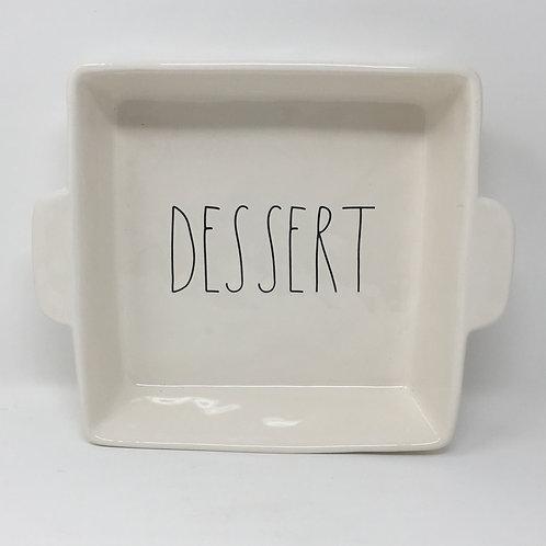 "Rae Dunn ""Dessert"" Bakeware"