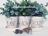 Rae Dunn Planters