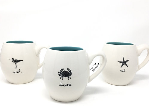 Rae Dunn Nautical Mug Set