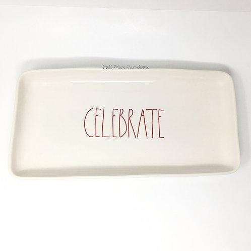 Rae Dunn Celebrate Platter