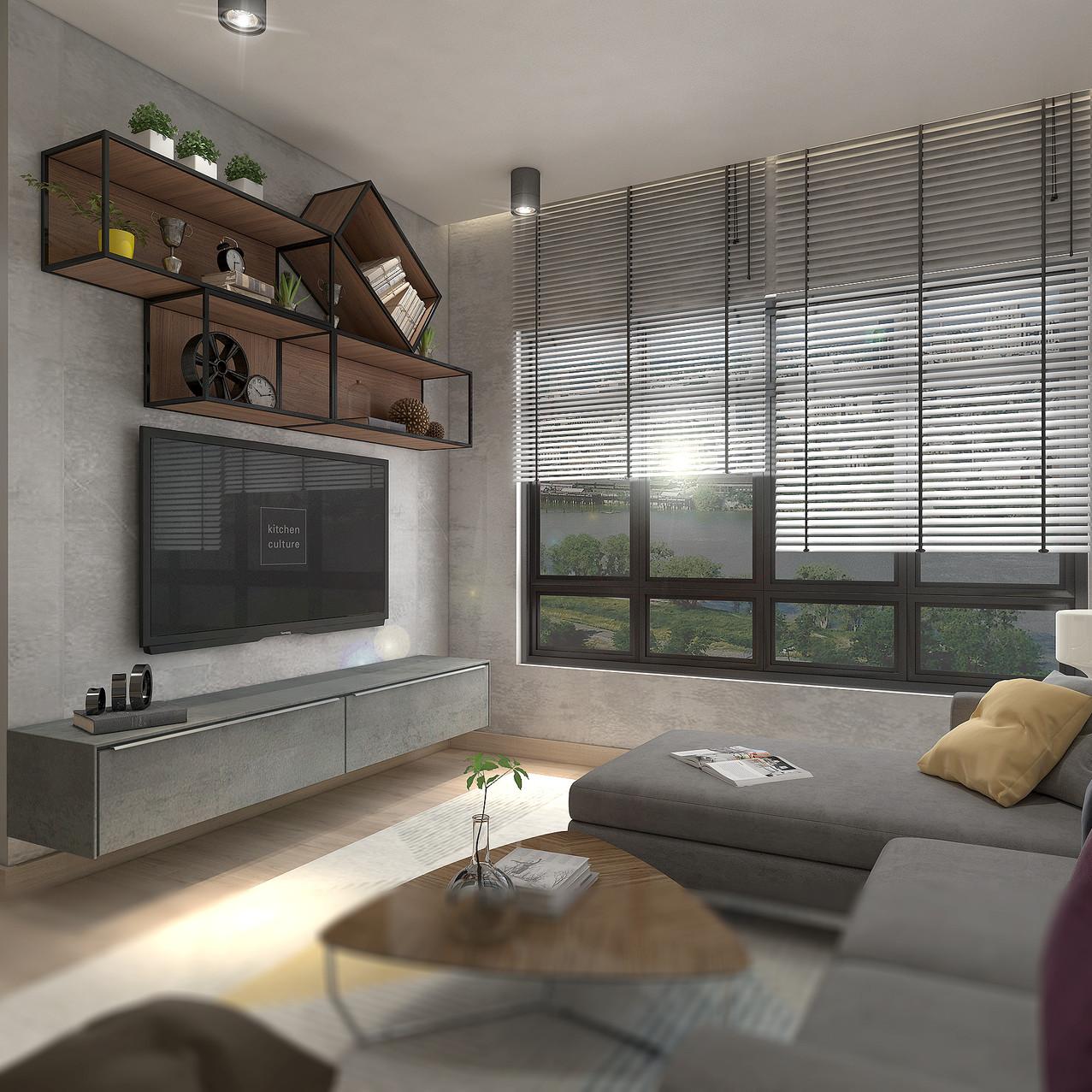 4 Room Living Area