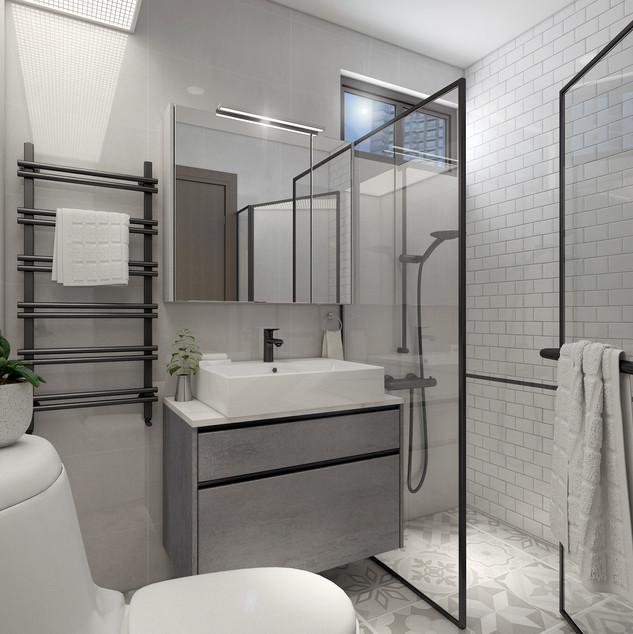4 Room Master Bathroom