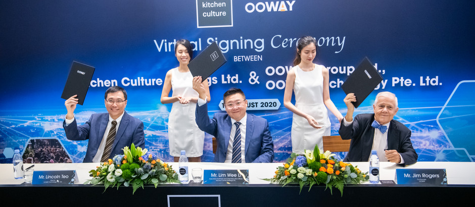 Kitchen Culture to acquire 30% stake in OOWAY Technology