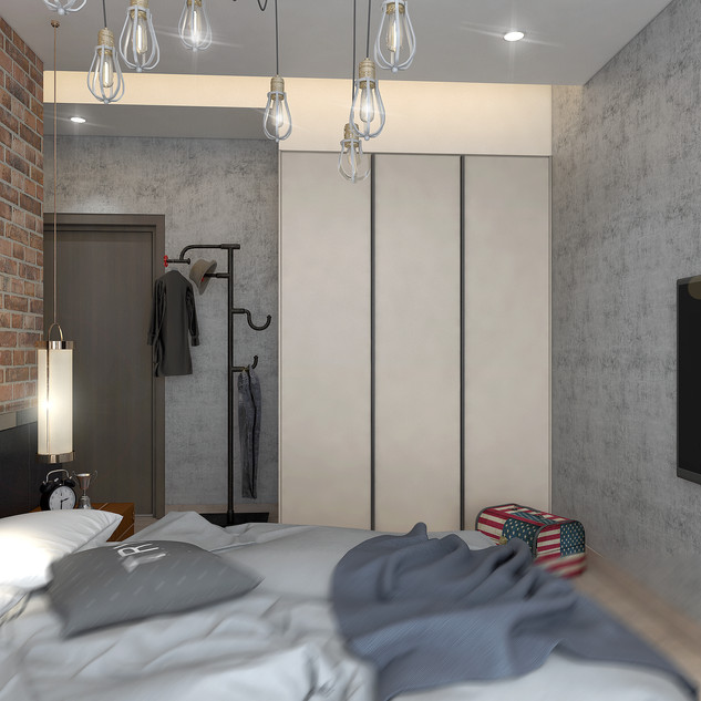 4 Room Master Bedroom