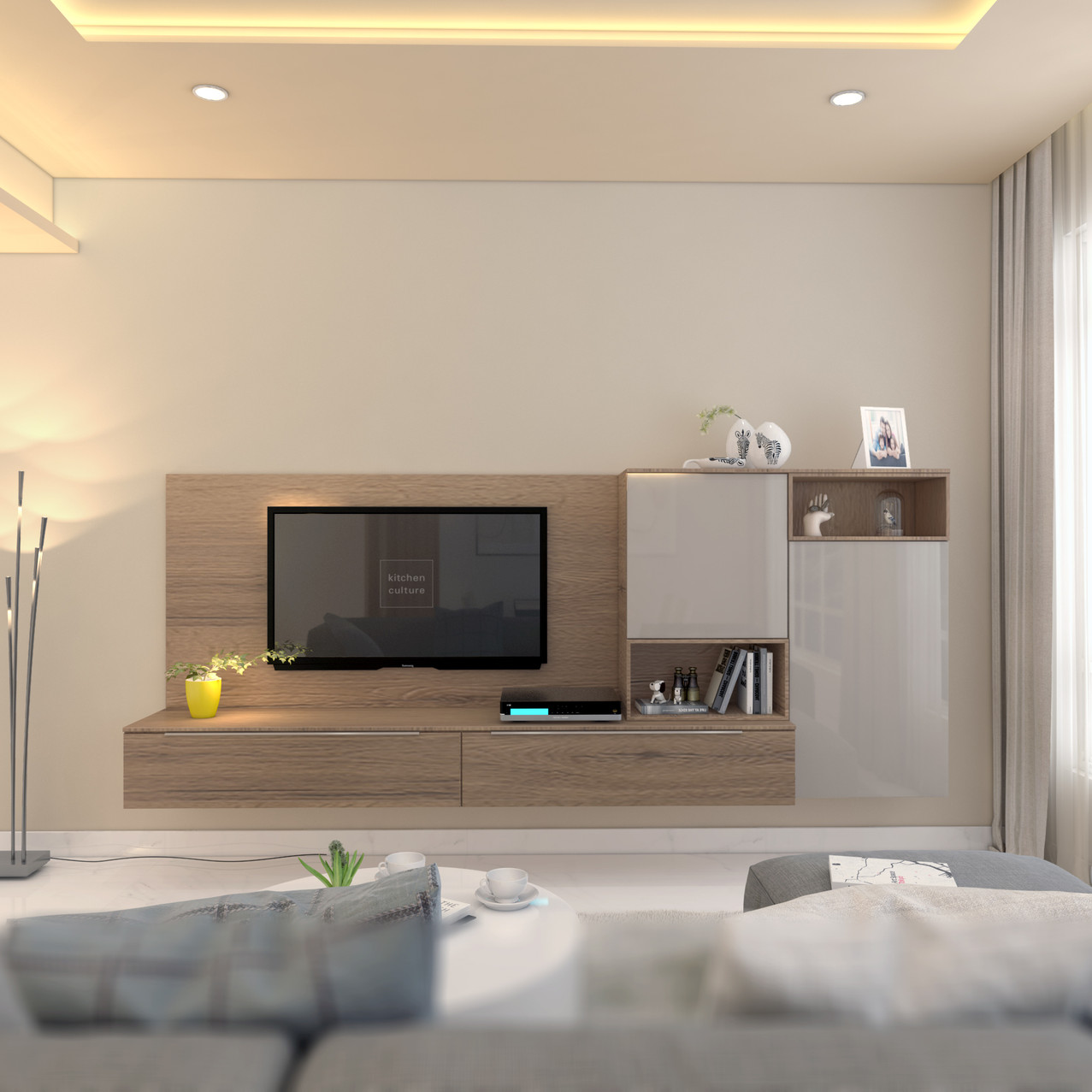 5 Room Living Area