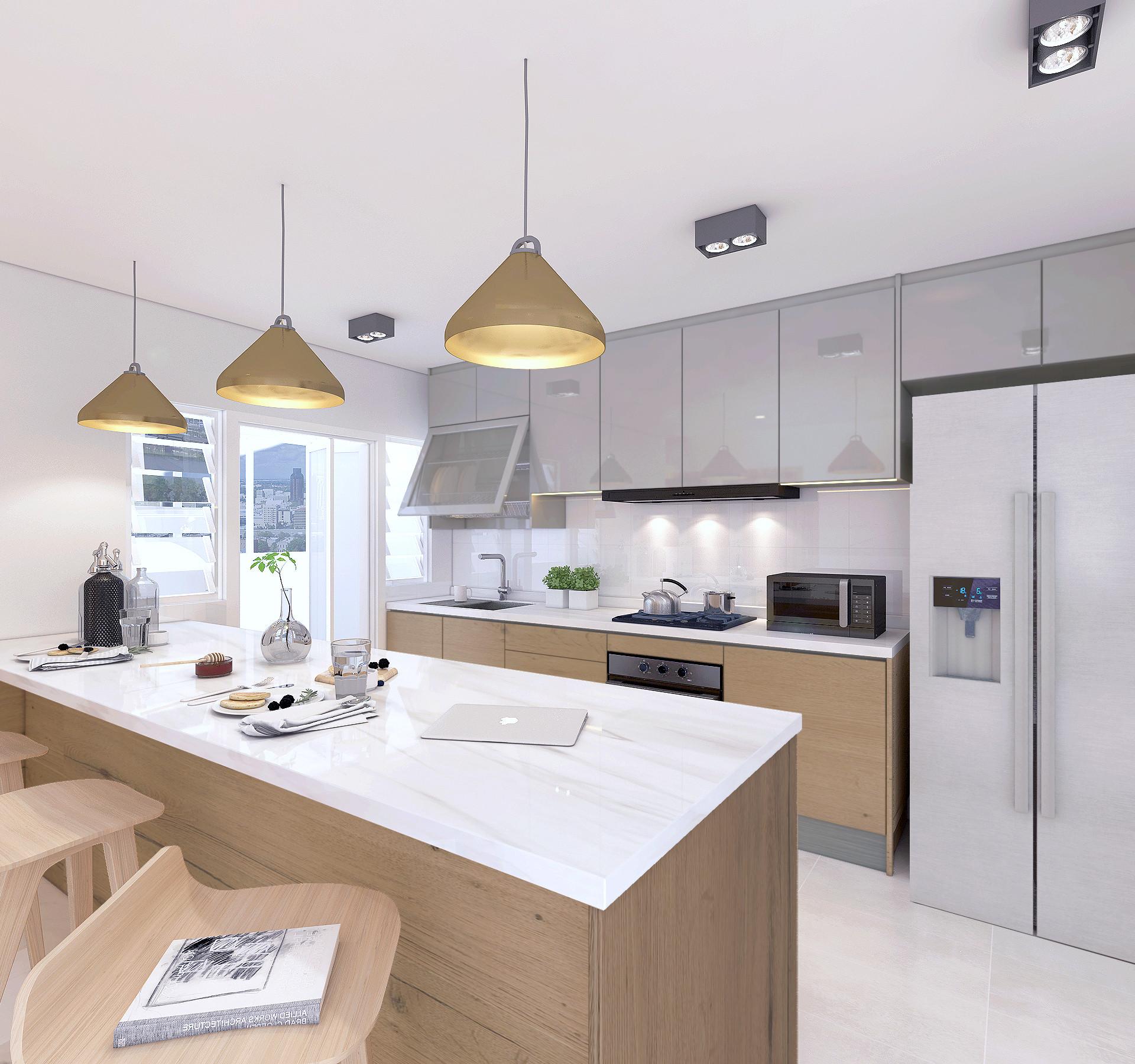 5 Room Kitchen Area