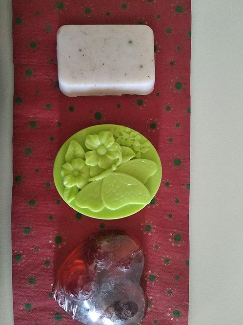 Handcarved Sundara Soap - Set of 3