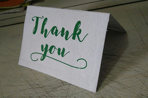 Thank You Cards - Set of 10