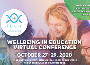 IPEN 2020 Wellbeing in Education - OCT 27-29