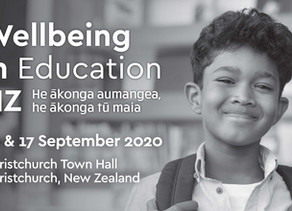 Wellbeing in Education NZ - September 16 & 17