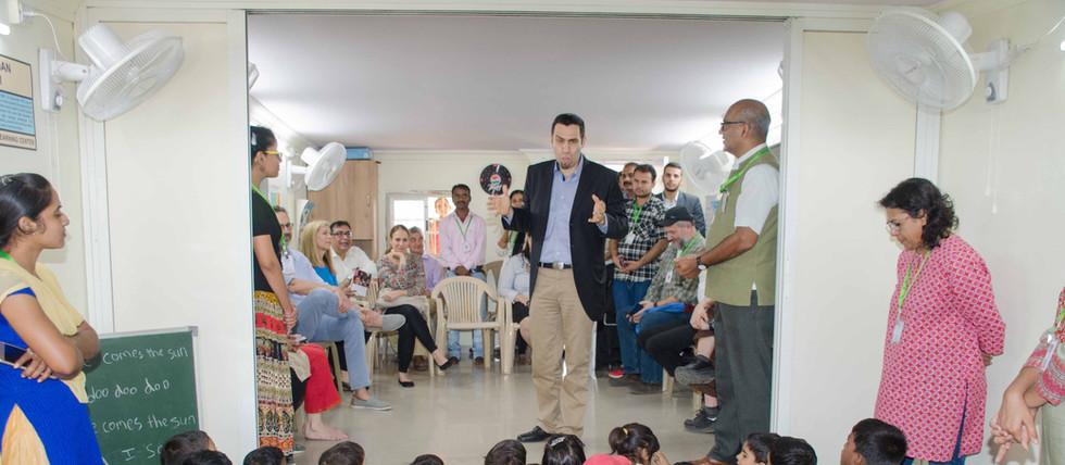 Consul general of Israel in Mumbai talki