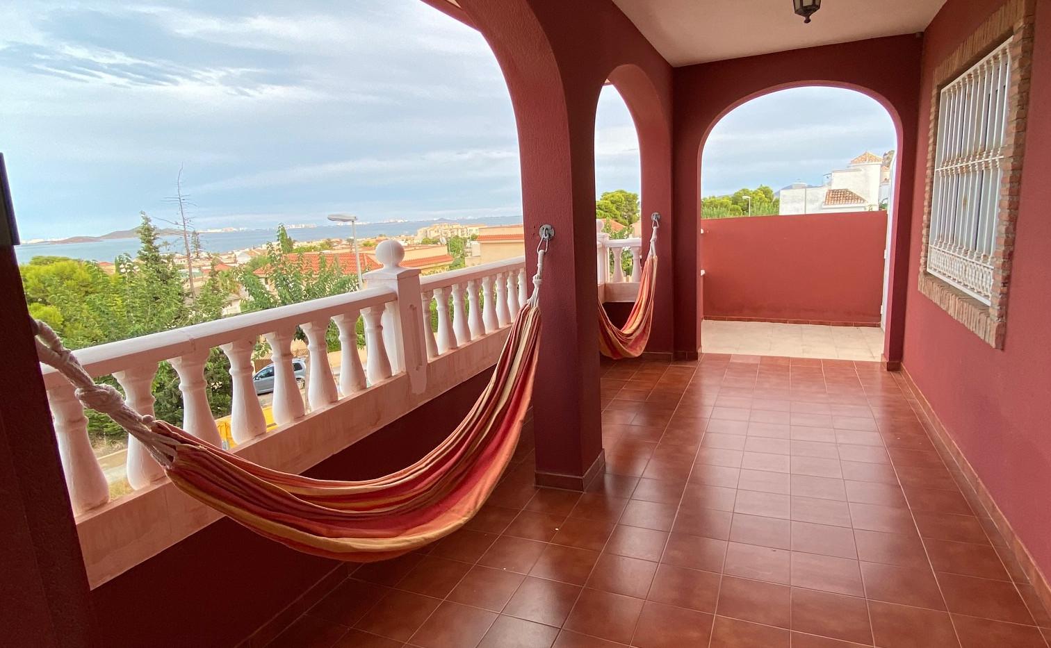 Second Balcony & Hammock