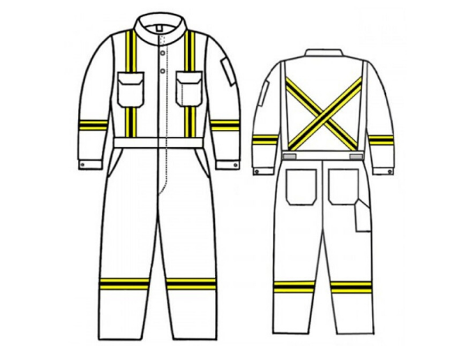 GT.7012_TecaSafe Plus Unlined Coverall w