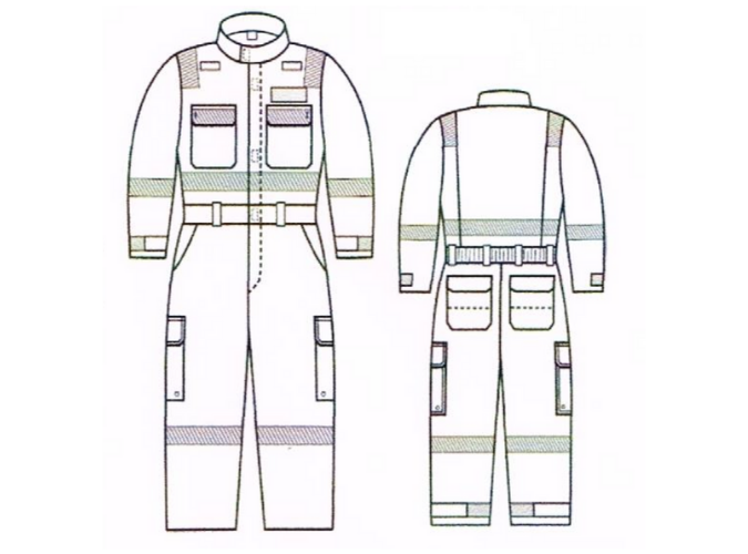 GF.629_Plus Fitted Wildland Coveralls 7o