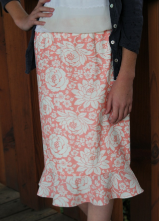 Flirty Skirt by Tricia Mathis
