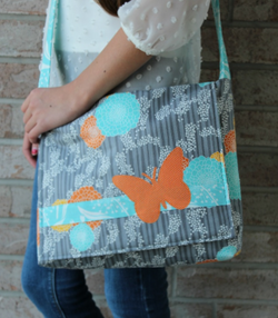 Butterfly Bag by Tricia Mathis