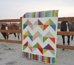 Chevron Quilt by Mower & Cottongim