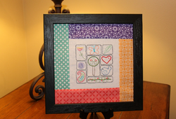 Embroidery Sampler by Tricia Mathis