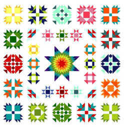 Kaleidoscope Sampler by Lori Hartman