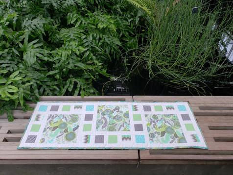 26 Square Trail Table Runner by Jessie P