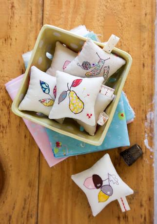Make Modern Issue 19 Autumn Pincushions