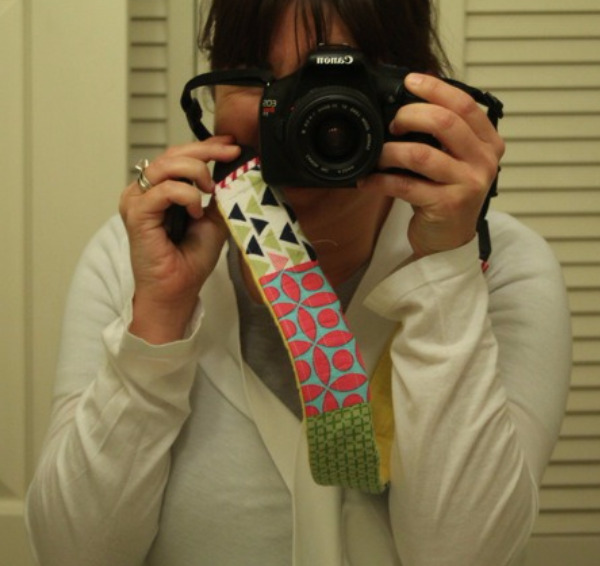 Camera Strap by Stephanie Kendron