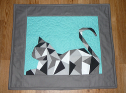 Geometric Kitty by Jane & Kristy