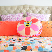 38 Humblebee Cushion by Mandy Murray @se