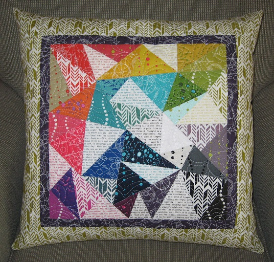 Shattered Cushion by Susan Bolte