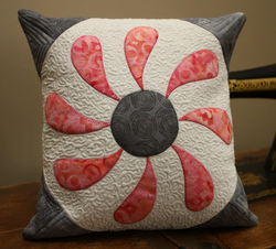 Flower Box cushion by Leanne Parsons
