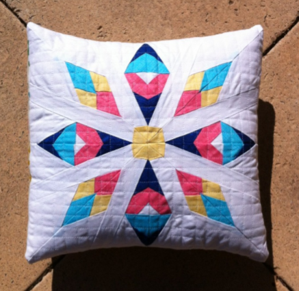 Star Drop Cushion by Kristy Lea