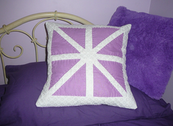 Asterisk cushion by Brooke & Jane