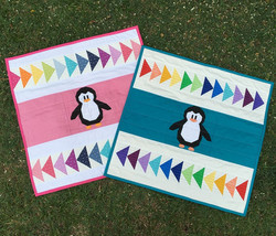 Playful Penguins by Kristy Lea