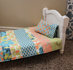 Reversible Doll Quilt by Tricia Mathis