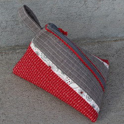 Zip Pouch by Tricia Mathis