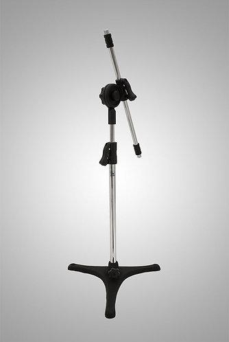 pedestal de microfone modelo mini girafa pé de ferro