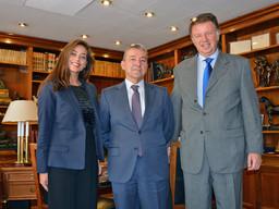 GILMAR analiza el mercado en Canarias con el expresidente de la Comunidad